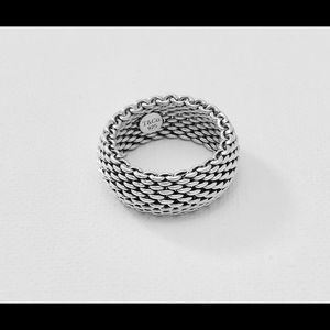 Tiffany & Co retired 925 Mesh Ring